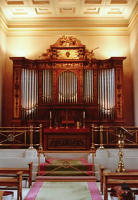 The Organ at Bowood House Chapel